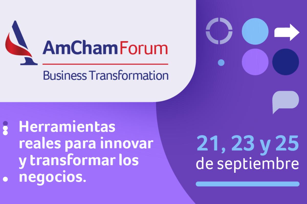 AmCham Argentina organiza una importante jornada de transformación de negocios e innovación
